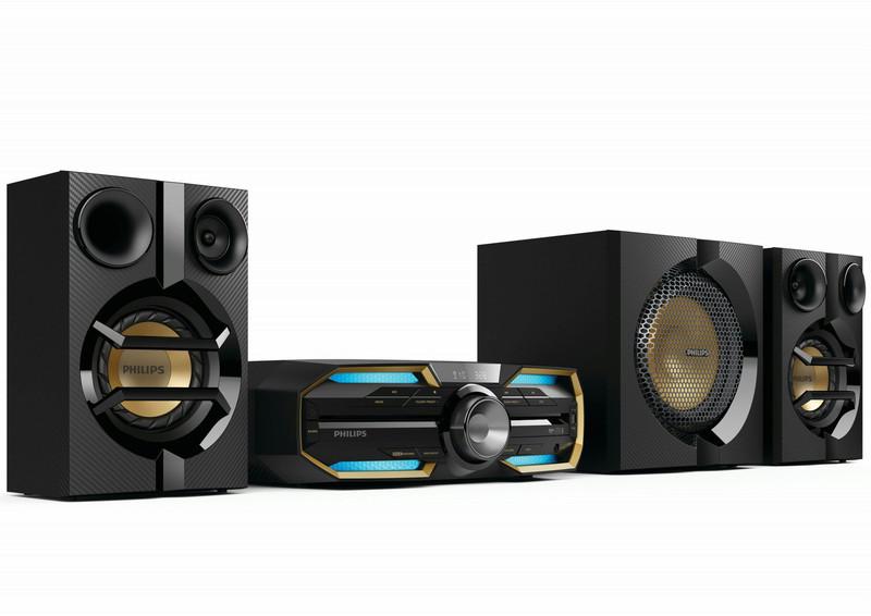 Philips FX55/12 Mini set 720Вт Черный, Синий, Золотой домашний музыкальный центр
