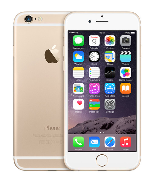 Apple iPhone 6 Одна SIM-карта 4G 16ГБ Золотой