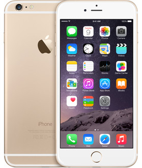 Apple iPhone 6 Plus Одна SIM-карта 4G 16ГБ Золотой смартфон