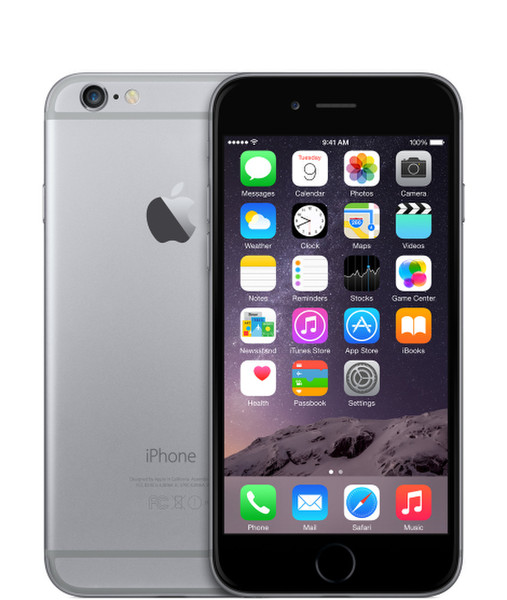 Apple iPhone 6 Одна SIM-карта 4G 16ГБ Серый смартфон