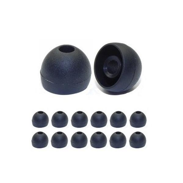 Earphones Plus 230-B-6BLK-6CLR-L Силиконовый Черный, Прозрачный 24шт подушечки для наушников