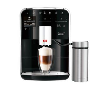 Melitta Caffeo Barista TSP Espresso machine 1.8л 15чашек Черный, Нержавеющая сталь