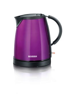 Severin WK9733 1л 1350Вт Черный, Фиолетовый электрический чайник