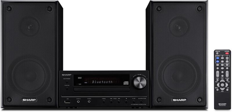 Sharp XL-HF102BHBK домашний музыкальный центр