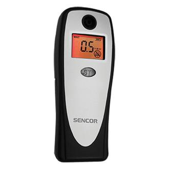 Sencor SCA BA01 0.1 - 0.15% Черный, Серый алкотестер