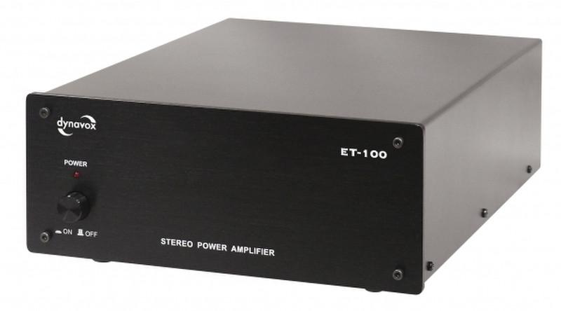 Dynavox ET-100 усилитель звуковой частоты