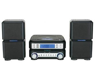 Naxa NS-438 Micro set 6Вт Черный домашний музыкальный центр