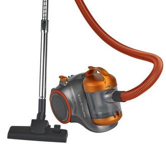 Clatronic BS 1293 Вертикальный пылесос 1000Вт Серый, Оранжевый