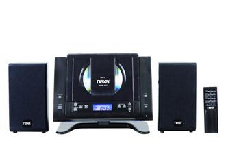 Naxa NSM-437 Micro set 4.4Вт Черный домашний музыкальный центр
