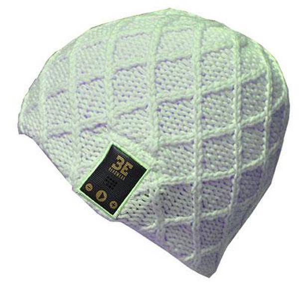 BE Headwear Luvspun Беспроводной Зеленый шапка с наушниками