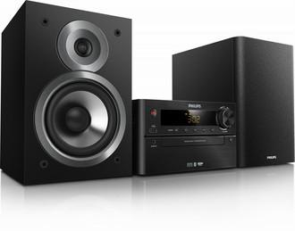 Philips BTM5120B/12 100Вт Черный домашний музыкальный центр