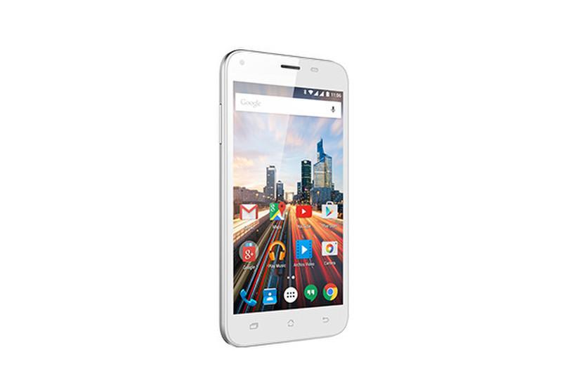 Archos Helium 50 Две SIM-карты 4G 8ГБ Белый смартфон