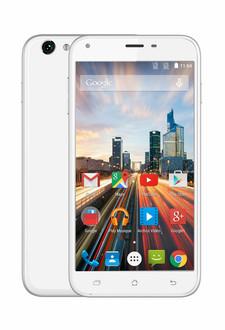 Archos Helium 55 Две SIM-карты 4G 8ГБ Белый смартфон