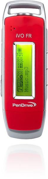 Pendrive 512mb MP3 2.0 iVO red