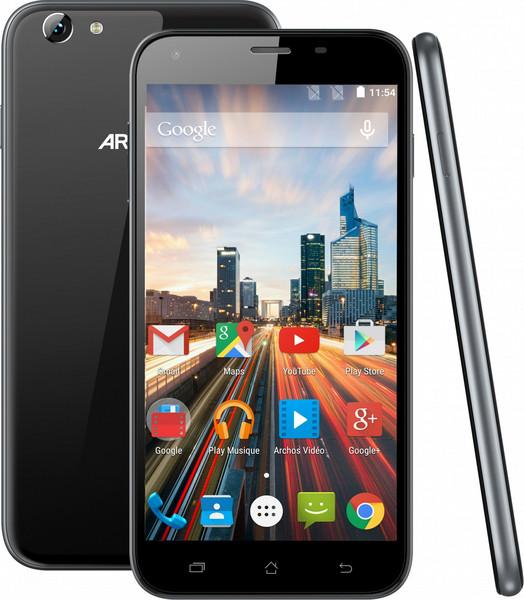 Archos Helium 55 Две SIM-карты 4G 8ГБ Черный смартфон