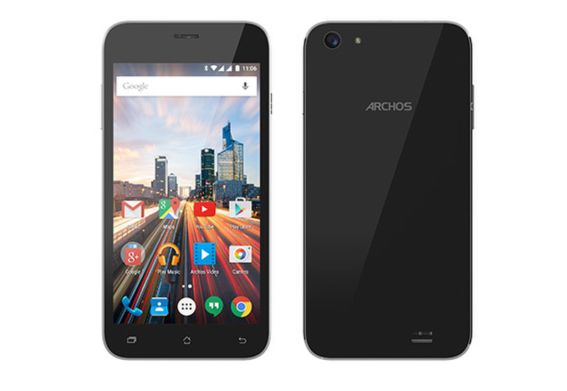 Archos Helium 50 Две SIM-карты 4G 8ГБ Черный смартфон