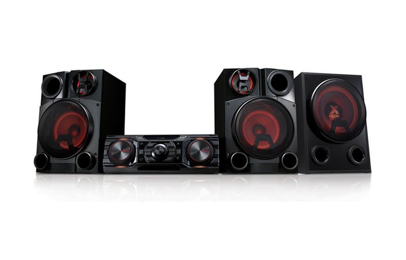 LG CM8450 Mini set 2500Вт Черный домашний музыкальный центр
