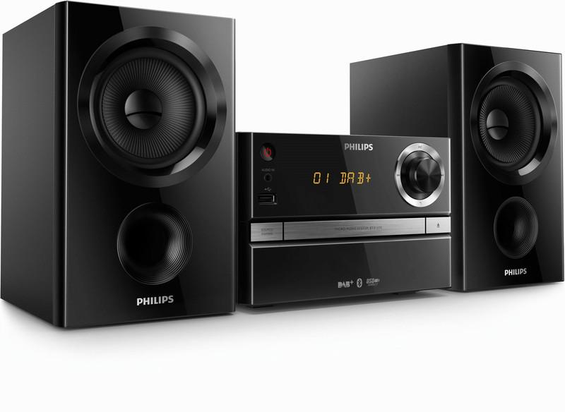 Philips BTB1370/12 Micro set 30Вт Черный домашний музыкальный центр
