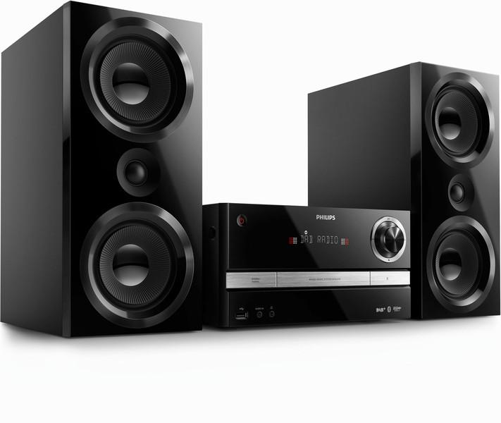 Philips BTB3370/12 Micro set 150Вт Черный домашний музыкальный центр
