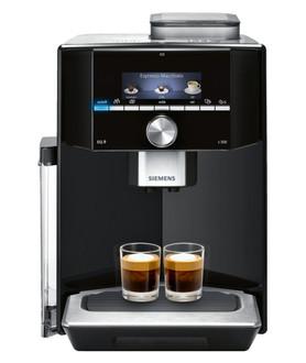 Siemens EQ.9 Espresso machine 2.3л Черный, Нержавеющая сталь