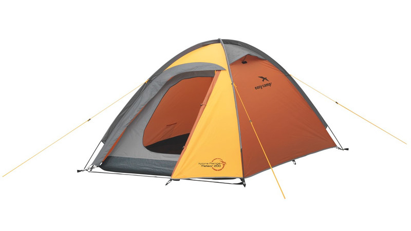 Easy Camp Meteor 200 Dome/Igloo tent 2person(s) Серый, Оранжевый