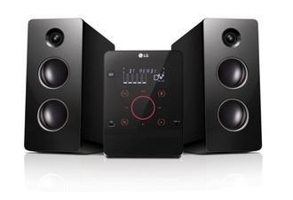 LG CM2760 Micro set 160Вт Черный домашний музыкальный центр