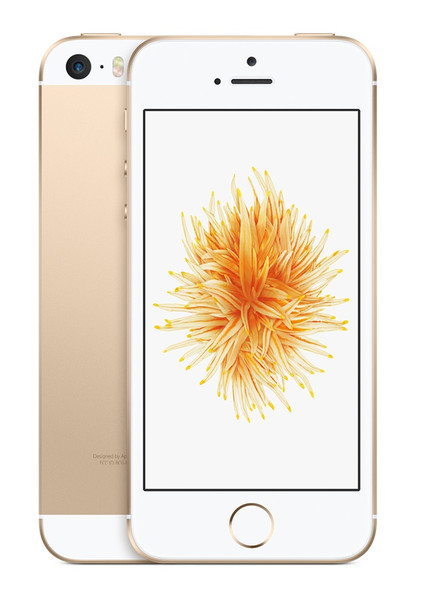 Apple iPhone SE Single SIM 4G 64GB Gold,White smartphone