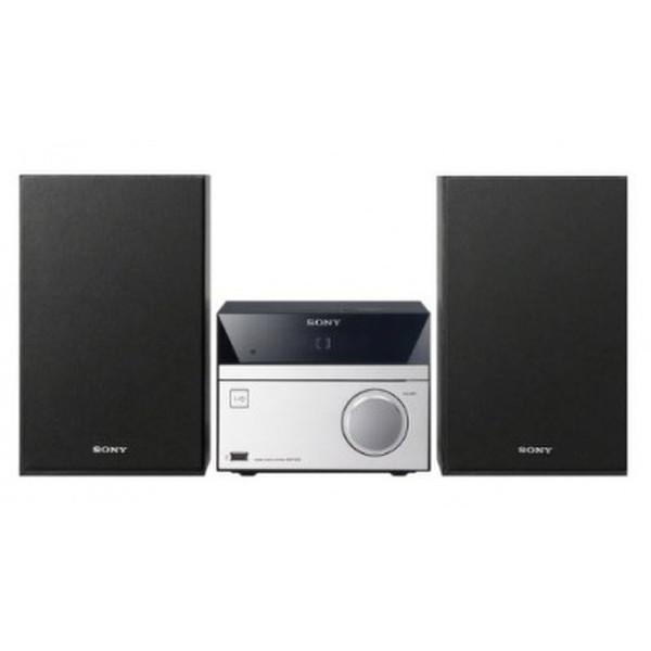 Sony CMT-SBT20B 12Вт Черный, Cеребряный