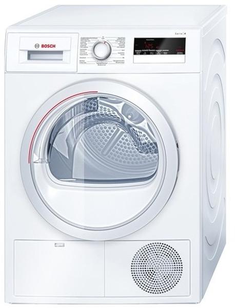 Bosch Serie 4 WTH83201FG Отдельностоящий Фронтальная загрузка 7кг A++ Белый сушилка для белья