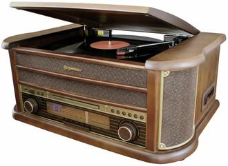 Roadstar HIF-1902HP 4.5Вт Деревянный домашний музыкальный центр