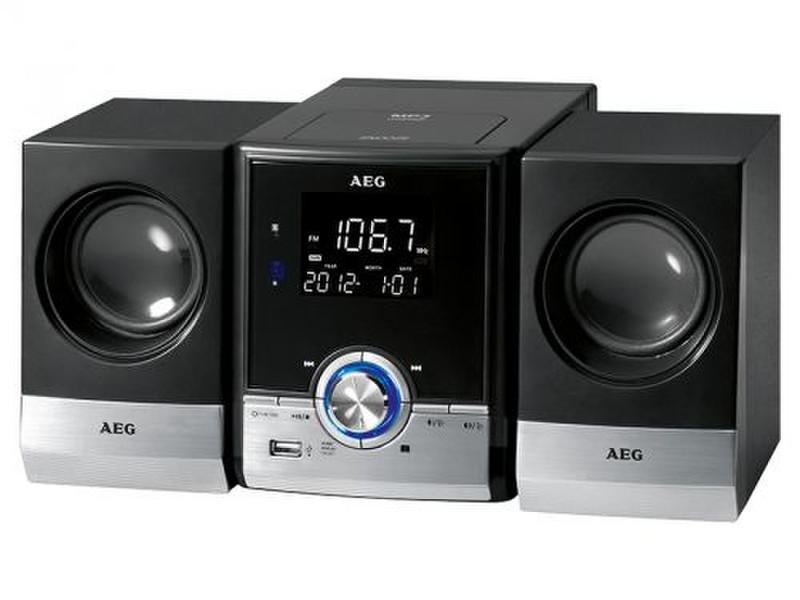 AEG MC 4461 BT Mini set 11Вт Черный, Cеребряный