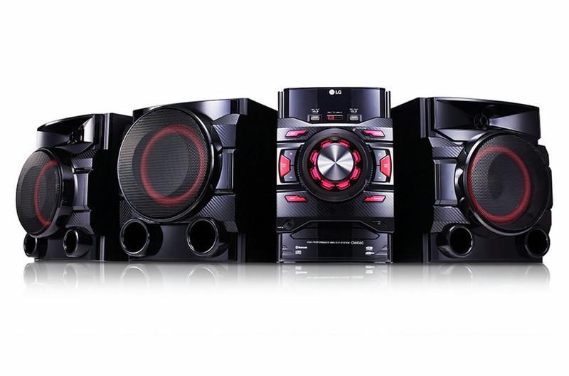 LG CM4560 700Вт Черный домашний музыкальный центр