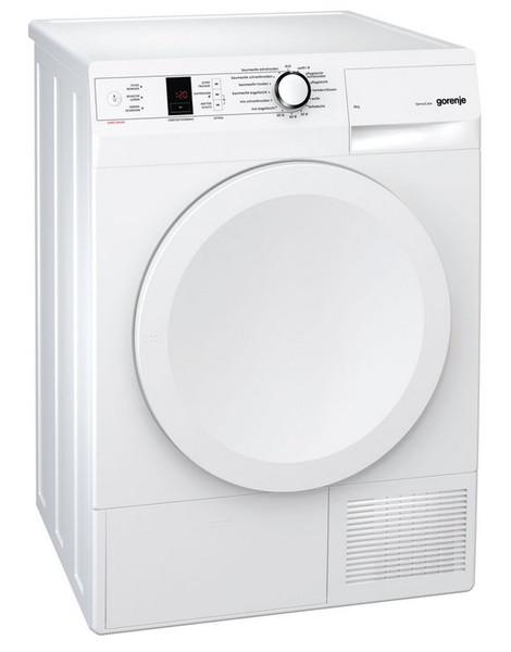 Gorenje D8566A+++ Отдельностоящий Фронтальная загрузка 8кг A+++ Белый