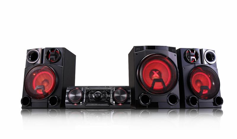 LG CM8460 Mini set 2750Вт Черный домашний музыкальный центр