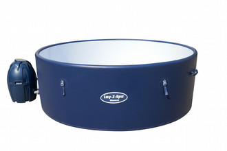 Bestway Lay-Z-Spa 54113 1453л 8person(s) Круглый Синий, Белый outdoor hot tub & spa