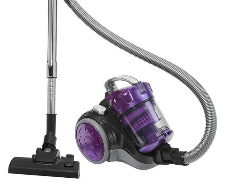 Clatronic BS 1302 Цилиндрический пылесос 700Вт A Фиолетовый