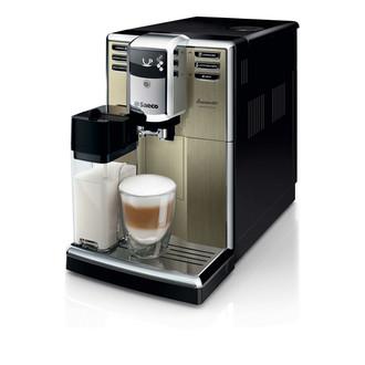 Philips Saeco HD8915 Отдельностоящий Автоматическая Espresso machine 1.8л Шампанское