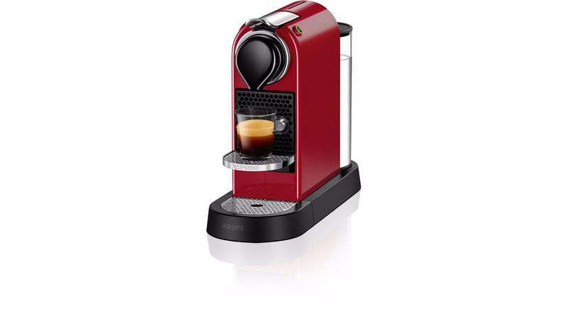 Krups Citiz Отдельностоящий Espresso machine 1л Красный