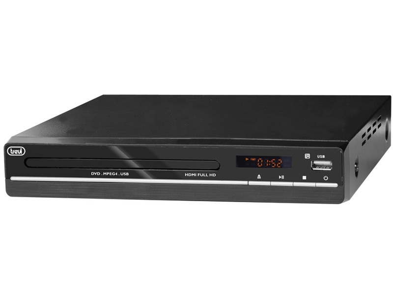 Trevi DVMI 3580 HD Проигрыватель Черный