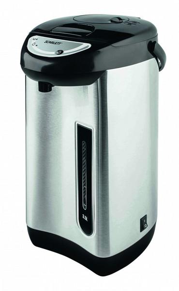 Scarlett SC-ET10D01 3.5л Черный, Нержавеющая сталь 750Вт электрический чайник