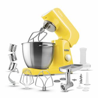 Sencor STM 46YL 1000Вт 4.5л Белый, Желтый кухонная комбайн
