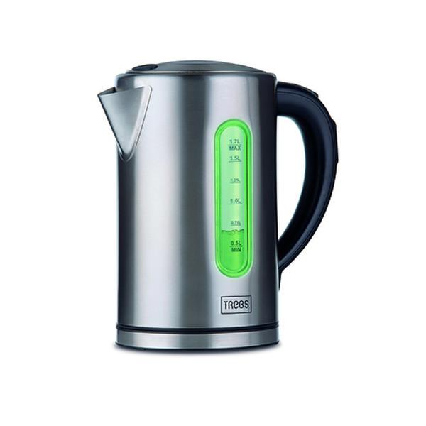 Trebs 99332 1.7л Черный, Нержавеющая сталь 2200Вт электрический чайник