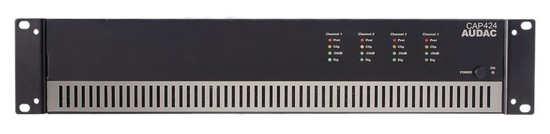 AUDAC CAP424 4.0 Дома Проводная Черный усилитель звуковой частоты