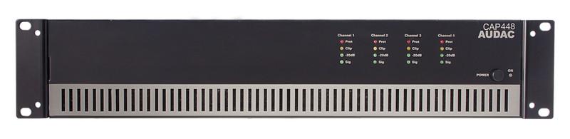 AUDAC CAP448 4.0 Дома Проводная Черный усилитель звуковой частоты
