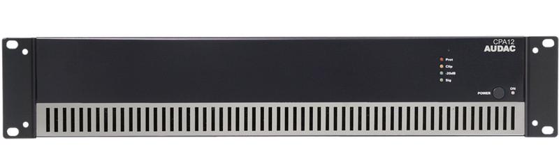 AUDAC CPA12 1.0 Дома Проводная Черный усилитель звуковой частоты