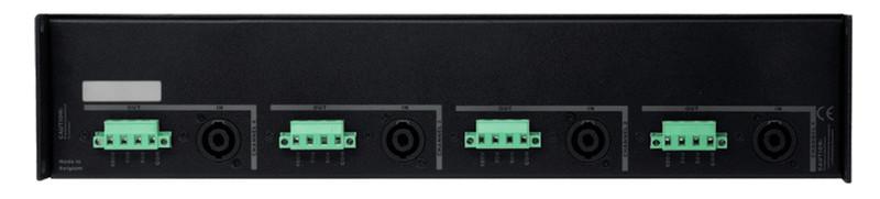 AUDAC Q4TR 4.0 Черный усилитель звуковой частоты