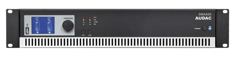AUDAC SMA500 2.0 Проводная Черный усилитель звуковой частоты