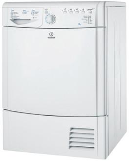 Indesit IDCA 835 Отдельностоящий Фронтальная загрузка 7.5кг C Белый