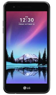 LG K4 Dual (2017) Две SIM-карты 4G 8ГБ Черный смартфон
