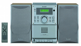 Sharp High Power Micro-Stereo-System